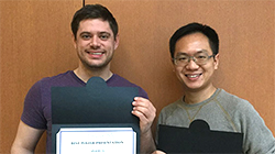 Congratulations to Bei and Orrin for winning the Best Poster Awards at the Annual Pharmaoclogy Research Retreat!
